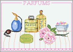 Kit point de croix - Parfums